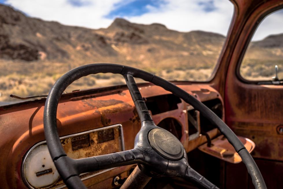 Rhyolite Ghost Town (Beatty, Nevada)
